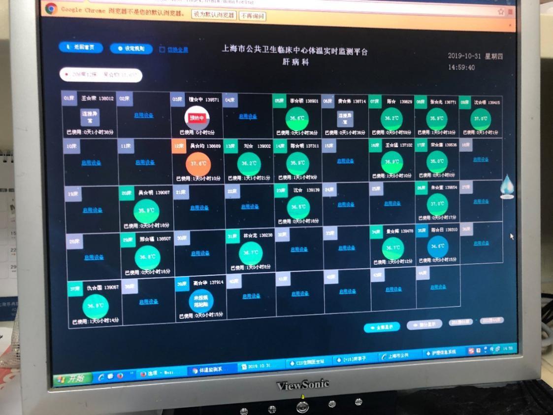 桂花网为抗疫一线搭建体温持续监测解决方案3